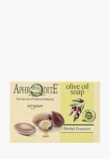 Мыло Aphrodite оливковое, с арганой, 100 г