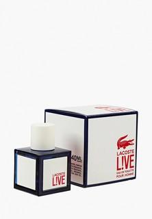 Туалетная вода Lacoste Live 40 мл