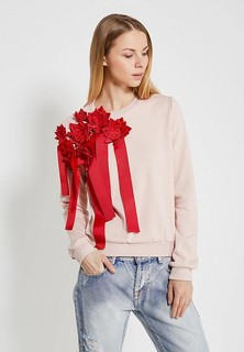 Свитшот LOST INK ROSE EMBELLISHED SWEAT