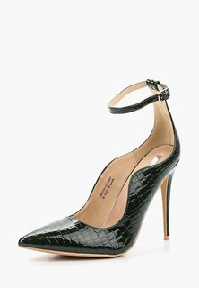 Туфли LOST INK PALM CURVED ANKLE STRAP COURT