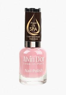 Лак для ногтей Alvin Dor SPA с аргановым маслом 15мл. Тон 5029