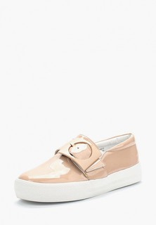 Слипоны LOST INK SAMANTHA SQUARE BUCKLE PLIMSOLL