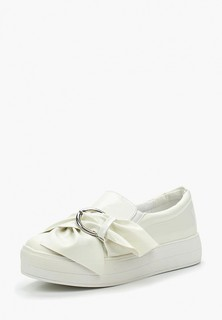 Слипоны LOST INK NATASHA BUCKLE BOW SLIP ON PLIMSOLL