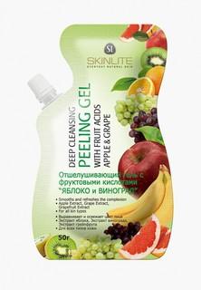Пилинг для лица Skinlite с фруктовыми кислотами ЯБЛОКО и ВИНОГРАД , 50 г