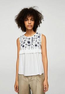 Женские футболки, поло и лонгсливы Mango