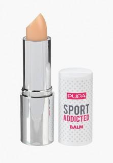 Бальзам для губ Pupa SPORT ADDICTED BALM, тон 001 Чистый ванильный SPORT ADDICTED BALM, тон 001 Чистый ванильный