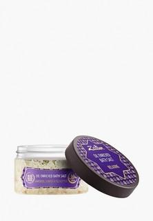 Соль для ванн Zeitun Зейтун Антистрессовая, с маслами эвкалипта, лаванды и можевельника, 250 мл