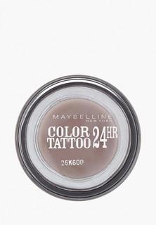 """Тени для век Maybelline New York """"Color Tattoo 24 часа"""" оттенок 40 Долговечный коричневый 4 мл"""