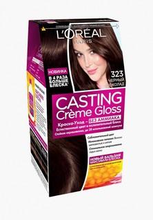 Краска для волос LOreal Paris LOreal Casting Creme Gloss, 323 Черный шоколад