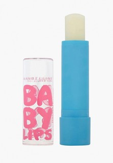 """Бальзам для губ Maybelline New York """"Baby Lips, Интенсивный уход"""", восстанавливающий и увлажняющий, от обветривания и трещин, бесцветный с запахом, 1,78 мл"""