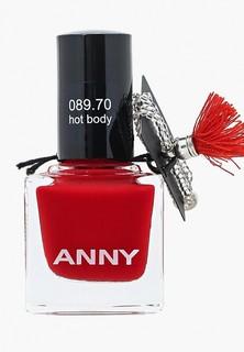 Лак для ногтей Anny тон 089.70 вишнево-красный