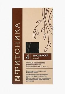 Краска для волос БиоБьюти Фитоника №4 черный, 30 г