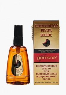Масло для волос Gemene Стимулятор роста для поврежденных и окрашенных , 55 мл