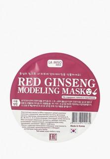 Маска для лица La Miso моделирующая (альгинатная) с красным женьшенем