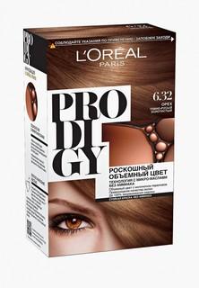 "Краска для волос LOreal Paris LOreal ""Prodigy"" без аммиака, оттенок 6.32, Орех"