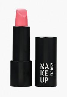 Помада Make Up Factory Устойчивая полуматовая Magnetic Lips semi-mat&long-lasting, т.140 мякгий розовый