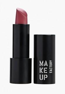 Помада Make Up Factory Устойчивая полуматовая Magnetic Lips semi-mat&long-lasting тон 158 ягодно-розовый