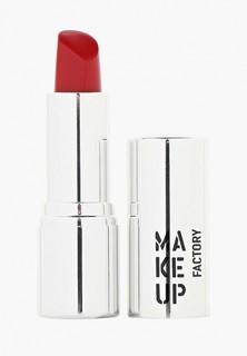 Помада Make Up Factory для губ кремовая Lip Color тон 156 красный