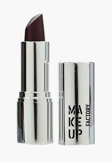 Помада Make Up Factory для губ кремовая Lip Color, тон 221 кремовый баклажан