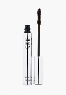 Тушь для ресниц Make Up Factory Комбинированная All In One Mascara тон 04 коричневый