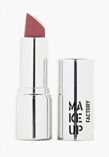 Помада Make Up Factory для губ кремовая Lip Color тон 201 медно розовый