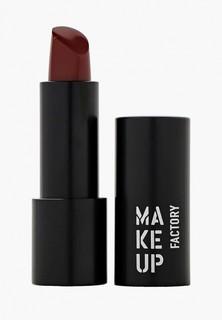 Помада Make Up Factory Устойчивая полуматовая для губ Magnetic Lips semi-mat&long-lasting тон 400 кр.багровый