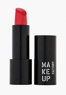 Помада Make Up Factory Устойчивая полуматовая для губ Magnetic Lips semi-mat&long-lasting тон 339 розово-алый