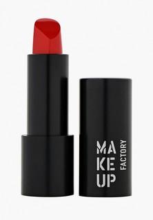 Помада Make Up Factory Устойчивая полуматовая для губ Magnetic Lips semi-mat&long-lasting тон 355 ярко красный