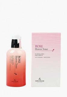 Тоник для лица The Skin House с экстрактом розы, 130 мл