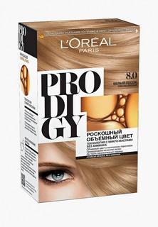 """Краска для волос LOreal Paris LOreal """"Prodigy"""" без аммиака, оттенок 8.0, Белый Песок Светло-Русый"""