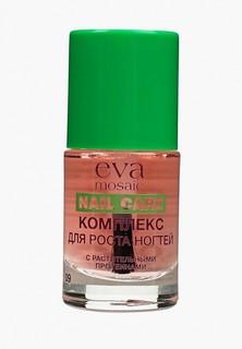 Средство для роста ногтей Eva Mosaic с растительными протеинами, 10 мл