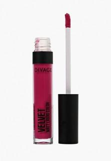 Помада Divage Жидкая Матовая Liquid Matte Lipstick Velvet № 04