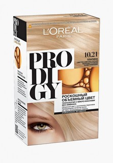 "Краска для волос LOreal Paris LOreal ""Prodigy"" без аммиака, оттенок 10.21, Платина"