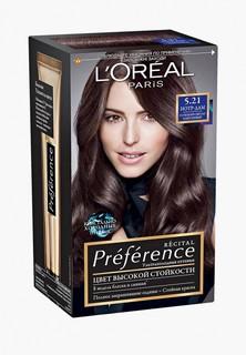 """Краска для волос LOreal Paris LOreal """"Preference"""", стойкая, оттенок 5.21, Нотр-Дам"""
