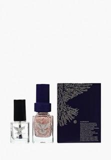 """Набор лаков для ногтей Christina Fitzgerald """"Розовые снежинки"""" + Подготовка к покрытию лаком, 12 мл"""