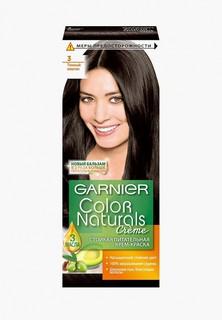 """Краска для волос Garnier """"Color Naturals"""", стойкая, питательная, оттенок 3, Темный каштан"""