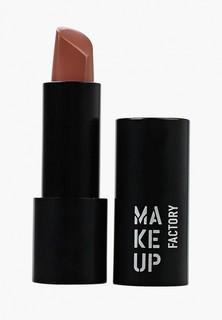 Помада Make Up Factory Устойчивая полуматовая Magnetic Lips semi-mat&long-lasting, т.230 нюдовый персик