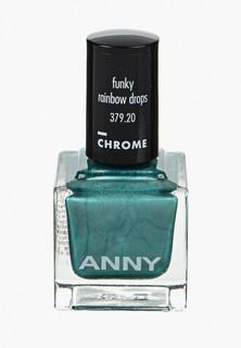 Лак для ногтей Anny тон 379.20 зеленая сосна с пералмутром