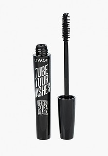 Тушь для ресниц Divage Tube Your Lashes Extra black № 01