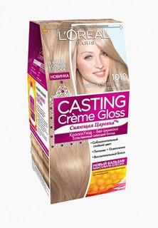 Краска для волос LOreal Paris LOreal Casting Creme Gloss, 1010 Светло-светло-русо-пепельный