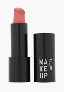 Помада Make Up Factory Устойчивая полуматовая для губ Magnetic Lips semi-mat&long-lasting тон 250 розовый Nude