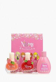 Набор лаков для ногтей Nomi №06 и №02 и жидкость для снятия лака
