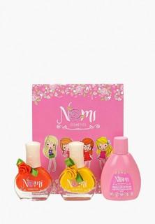 Набор лаков для ногтей Nomi №15 и №17 и жидкость для снятия лака