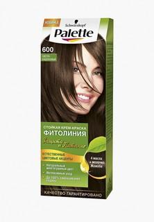 Краска для волос Palette ФИТОЛИНИЯ 600 Светло-каштановый, 110 мл