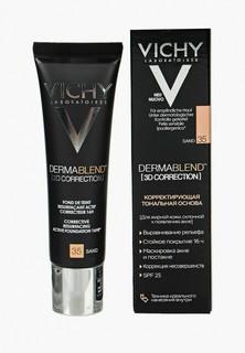 Тональное средство Vichy DERMABLEND 3D с высоким покрытием для жирной кожи, склонной к появлению акне, тон 35 30 мл