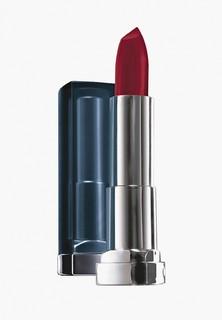 Помада Maybelline New York для губ увлажняющая Color Sensational Матовое Искушение, оттенок 968 Роскошный рубин, 4