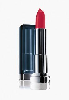 """Помада Maybelline New York для губ """" Сolor Sensational"""" Матовое искушение, увлажняющая, оттенок 960, Красный Закат, 4,4 г"""