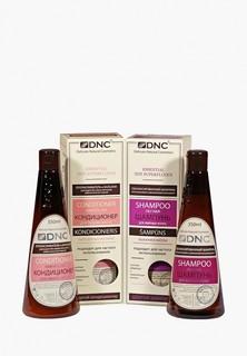 Набор для ухода за волосами DNC Шампунь для жирных волос 350 мл и Кондиционер для объема волос 350 мл