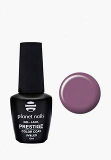 """Гель-лак для ногтей Planet Nails """"PRESTIGE"""" - 519, 10 мл дымчато-розовый"""