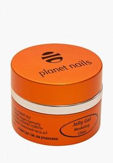 Гель-лак для ногтей Planet Nails 11070 Modeling Clear Jelly Gel конструирующий, прозрачный 15 г